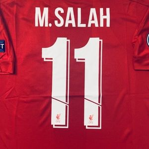 lowest price 9e984 541aa Mohamed Salah #11 soccer jersey Liverpool Home NWT